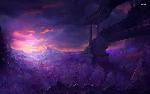 File:Castle-under-the-purple-sky-fantasy-hd-wallpaper-70872.jpg