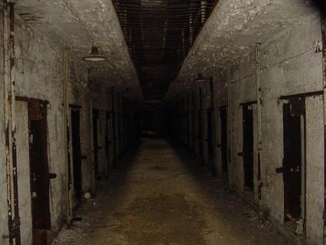 Foreboding hallway