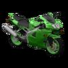 KawasakiNinja Green