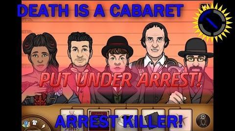 Criminal Case Mysteries of the Past Case 23 - Death is a Cabaret Arrest Killer!