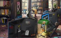 2. Bookshelves