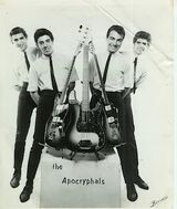 Joe and his band in the 60s