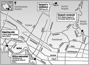 Xerox crime map