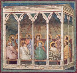 Pentecoste Giotto Padua