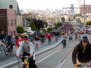 Critical Mass, San Francisco, April 29, 2005