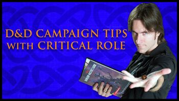 Dungeons & Dragons Campaign Tips