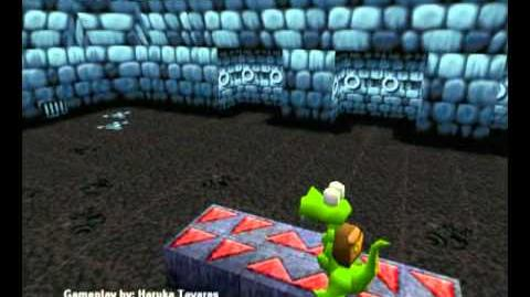 Croc Legend of the Gobbos (PC) - Island 4 Level 3 (Dungeon of Defright)