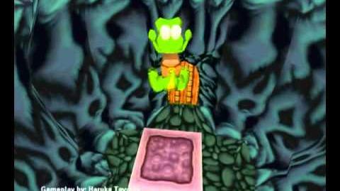 Croc Legend of the Gobbos (PC) - Island 1 Level 3 (Shoutin Lava Lava Lava)