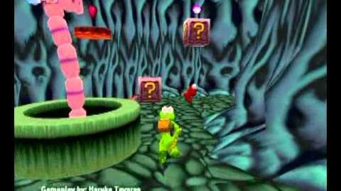 Croc Legend of the Gobbos (PC) - Island 1 Level 2 (Underground Overground)