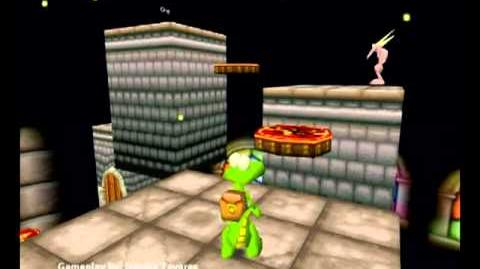 Croc Legend of the Gobbos (PC) - Island 4 Level 4 (Ballistic Meg's Fairway)