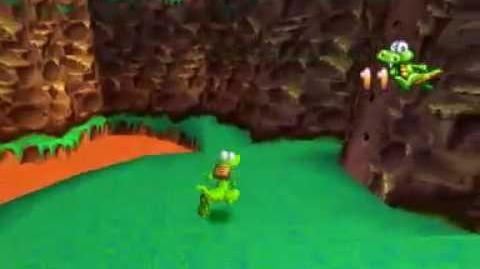 Croc Legend of the Gobbos (PSX) - Mountain World