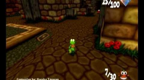 Croc 2 (PC) - Inca Village - Save 30 Gobbo Babies! (Part 1 2)