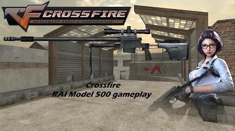 Crossfire RAI Model 500 gameplay