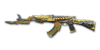 AK47 Knife BornBeast NobleGold