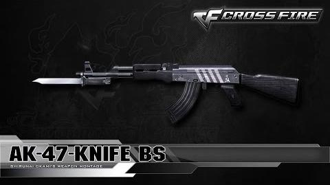 CrossFire China AK-47 Knife-BS ☆