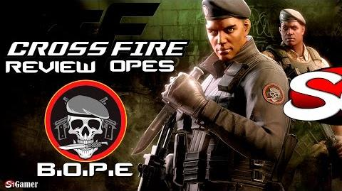☆CrossFire - Review do novo personagem OPES (BOPE) - 14✔