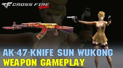 CrossFire - AK-47 Knife Sun WuKong - Weapon Gameplay