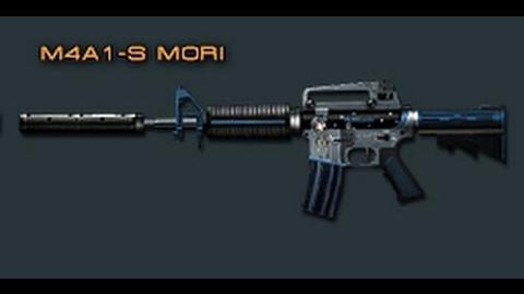 Cross Fire Japan M4A1-S Mori (Assault Rifle) Review!