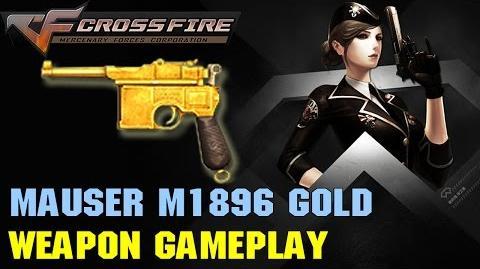 CrossFire VN - Mauser M1896 Gold