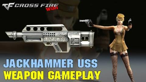 CrossFire - Jackhammer Ultimate Silversmith - Weapon Gameplay