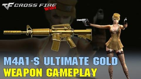 CrossFire - M4A1-S Ultimate Gold - Weapon Gameplay