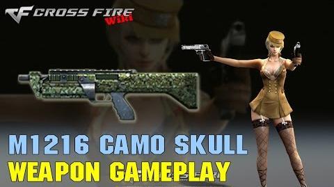 CrossFire - M1216 Camo Skull - Weapon Gameplay