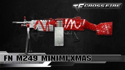 CrossFire Vietnam FN M249 Minimi-Xmas ☆