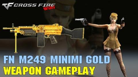 CrossFire - M249 Minimi Gold - Weapon Gameplay