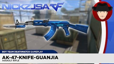 AK-47-Knife-Guanjia CROSSFIRE China 2