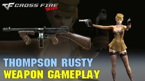 CrossFire - Thompson Rusty - Weapon Gameplay