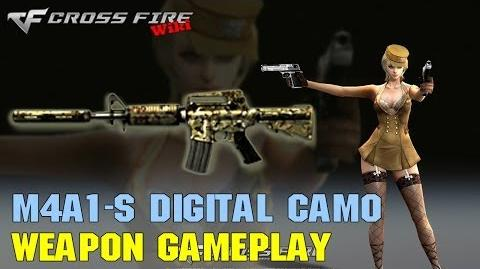 CrossFire - M4A1-S Digital Camo - Weapon Gameplay