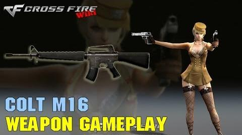 CrossFire - Colt M16 - Weapon Gameplay