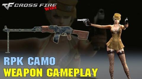 CrossFire - RPK Camo - Weapon Gameplay