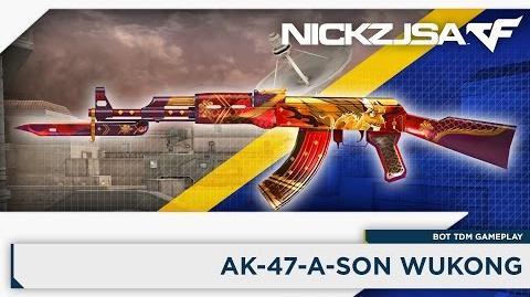 AK-47-A-Sun Wukong CROSSFIRE China 2