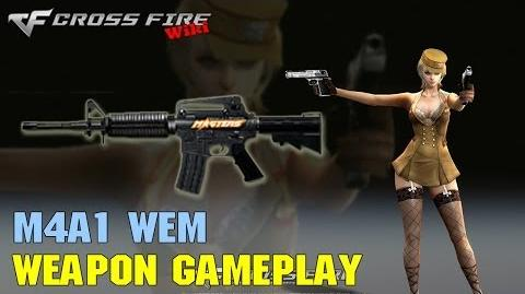 CrossFire - M4A1 WEM - Weapon Gameplay