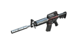 M4A1 S URSS Sideview