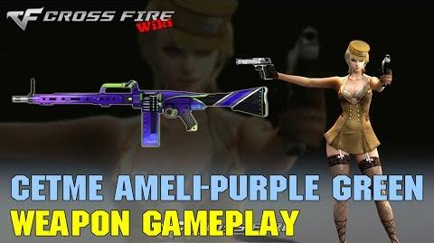 CrossFire - CETME Ameli Purple Green - Weapon Gameplay