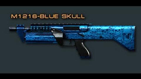 Cross Fire China M1216-Blue Skull Review !