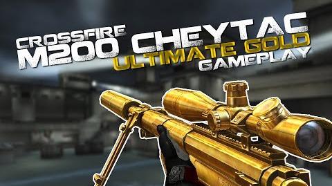 CrossFire M200 CheyTac Ultimate Gold Gameplay ll 10DarkGamer