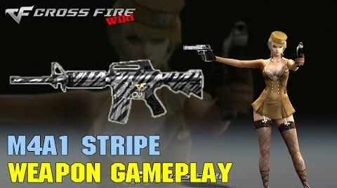 CrossFire - M4A1 Stripe - Weapon Gameplay