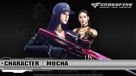 CrossFire Character Mocha ☆