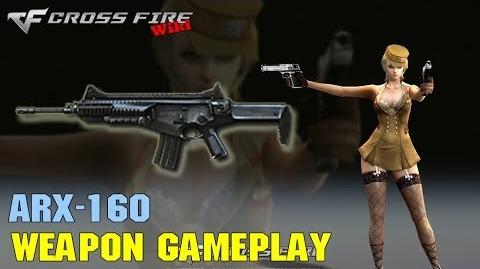 CrossFire - ARX-160 - Weapon Gameplay