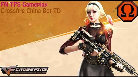 Crossfire China - FN TPS Gameplay (Solo Bot TD)