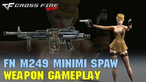 CrossFire - M249 Minimi SPW - Weapon Gameplay