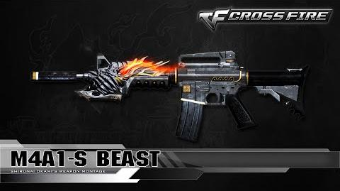 CrossFire China M4A1-S Beast ☆
