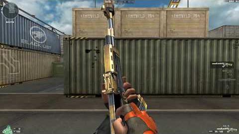 Cross Fire China AK47-S Gold Phoenix!