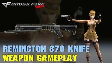 CrossFire - Remington 870 Knife - Weapon Gameplay