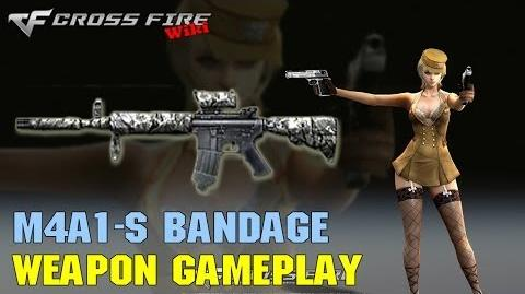 CrossFire - M4A1-S Bandage - Weapon Gameplay