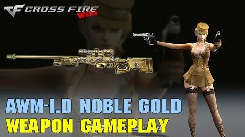 CrossFire - AWM-ID Noble Gold - Weapon Gameplay