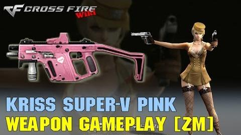 CrossFire - Kriss Super-V Pink - Weapon Gameplay
